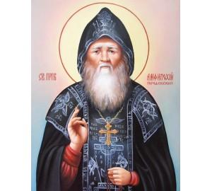 Писаная икона Преподобный Амфилохий Почаевский, чудотворец (Гр-19)