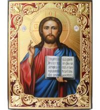 Ікона писана з сусальним золотом Спас Вседержитель (ВЧ-05)