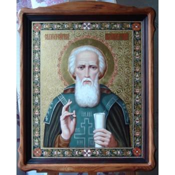 Ікона писана Сергій Радонезький (ір-7)