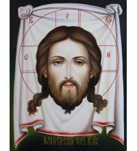 Писана ікона Спас Нерукотворний (гр-80)