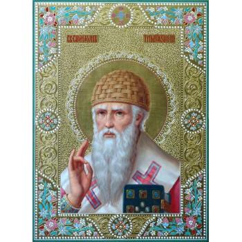 Ікона писана Спиридон Триміфунтський (ір-2/2)