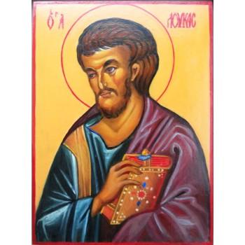 Писаная икона Святой апостол Лука (АХ-03)