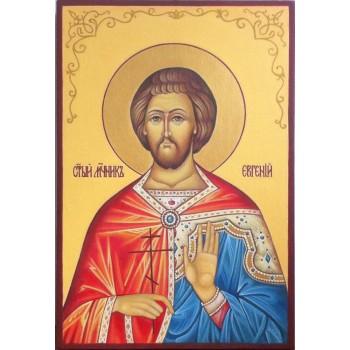 Писана ікона Святої Євген Севастійський (АХ-02)