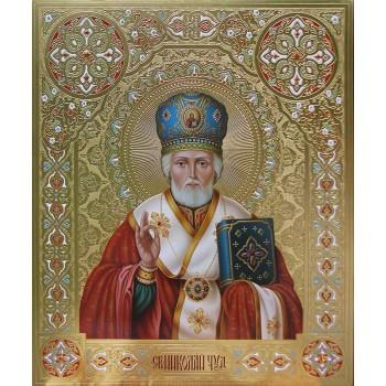 Писана ікона Святий Миколай (Дм-09)