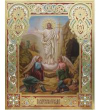 Писаная Икона Воскресение Христово (Дм-14)