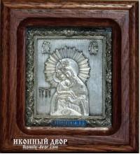 Почаевская Божья Матерь - икона на подарок, с серебром (ЮЛ-10)