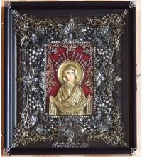Покрова - Эксклюзивная икона с серебром (Ос-П13)