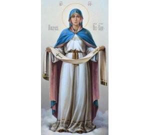 Покрова Пресвятої Богородиці - ікона писана (сч-12)