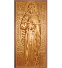 Пророк Илия - Резная деревянная икона (р-02)