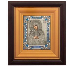 Семистрельная икона Божией Матери - икона для защиты дома (k-12)