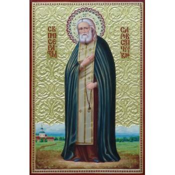 Серафим Саровський - Неповторна ікона писана (ір-13)