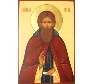 Сергій Радонежський - ікона писана (Гр-64)