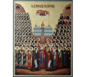 Собор Преподобных Печерских - Писанная Икона (ир-3)