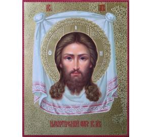 Спас Нерукотворный - великолепная писаная икона (ир-26)