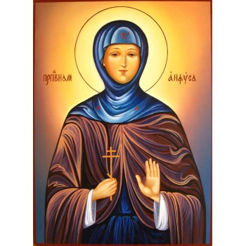 Святая Анфиса - писаная икона (Гр-51)