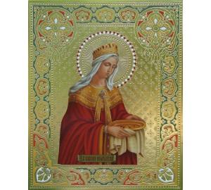 Святая Равноапостольная царица Елена - писаная икона (Дм-05)