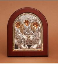 Святая Троица - Икона из Греции с серебром и позолотой (GOLD)