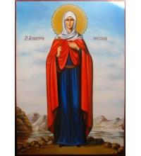 Свята Вікторія Ефеська - красива ікона писана (Гр-50)