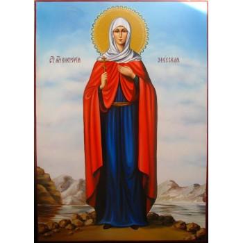 Святая Виктория Эфесская - красивая писаная икона (Гр-50)
