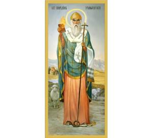Святитель Спиридон Триміфунтський - ікона писана (еи-02)