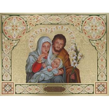 Святе Сімейство - ікона писана (Дм-04)