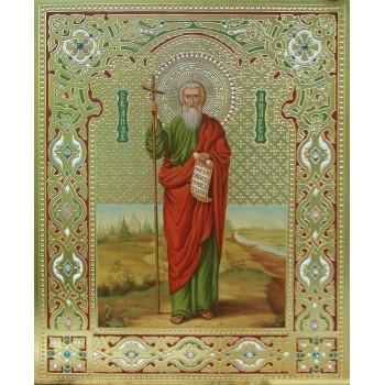 Святий апостол Андрій Первозванний - ікона писана (Дм-07)
