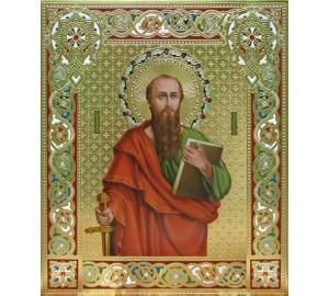 Святий апостол Павло - ікона писана, сусальне золото (Дм-08)