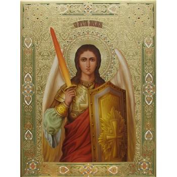 Святой Архангел Михаил - писаная икона (Дм-12)