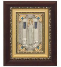 Святой благоверный князь Игорь Черниговский - икона с серебром (k-18)
