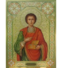 Святий цілитель Пантелеймон - ікона писана (Дм-20)