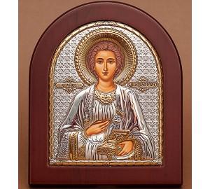 Святой целитель Пантелеймон - покровитель врачей, моряков и военных (GOLD)