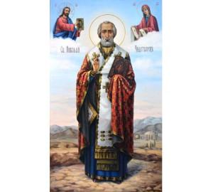 Святой Николай Чудотворец - чудотворная икона (сч-42)