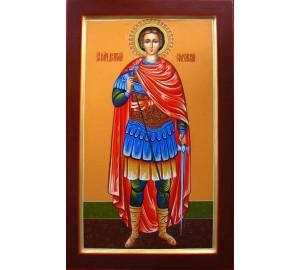 Святой великомученик Дмитрий (Димитрий) Солунский - писаная икона (Гр-54)