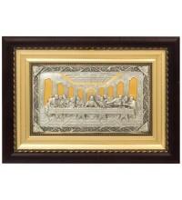 Таємна Вечеря - красива ікона із золотом і сріблом (k-09)