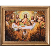 Тайная вечеря - янтарная картина (rb-10)
