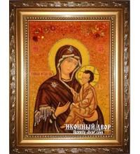 Тихвинская ікона Богородиці - покровителька немовлят, помічниця при пологах і в період вагітності (ар-141)
