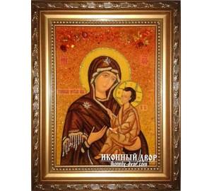 Тихвинская икона Богородицы - покровительница младенцев, помощница при родах и в период беременности (ар-141)