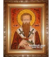 Тимофій - Високоякісна красива янтарна ікона (Тимофій)