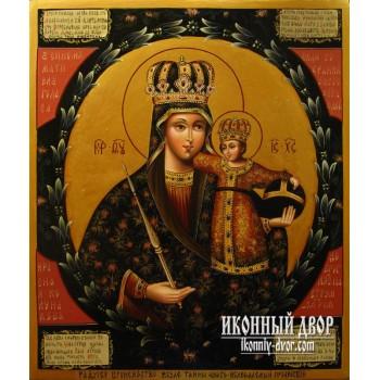 Трубчевская икона Божьей Матери - писаная икона (гр-43)