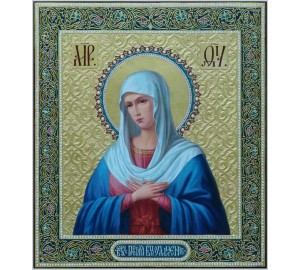 Розчулення - ікона Пресвятої Богородиці - Неперевершена ікона писана (ір-11)