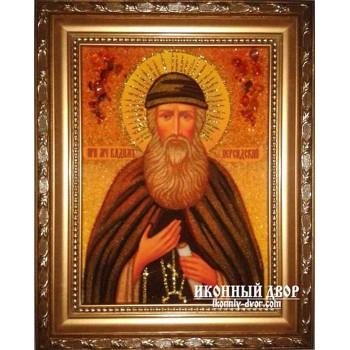 Вадим Персидский - Именная икона из янтаря (ар-142)
