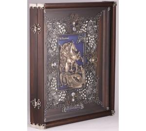 Великолепная икона Георгий Победоносец - Эксклюзивная икона (Ос-ГПс23)