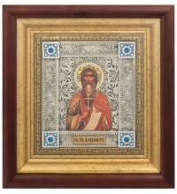 Владимир равноапостольный - икона с серебром (k-07)