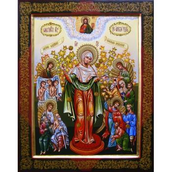 Всіх Скорботних Радість - Писана Ікона Божої Матері (Гр-34)