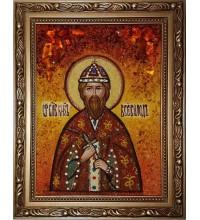 Всеволод - икона из янтаря (ар-71)
