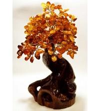 Дерево счастья из янтаря (rb-0003)