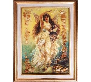 Фортуна - картина из янтаря (rb-62)