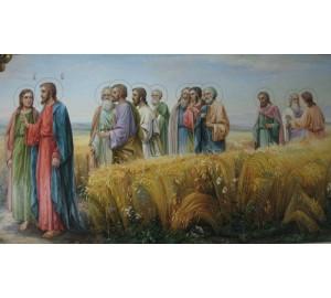 Картина Иисус с учениками (сч-35)
