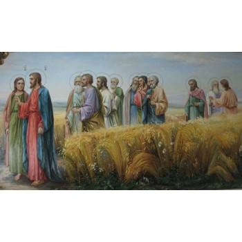 Картина Ісус з учнями (сч-35)