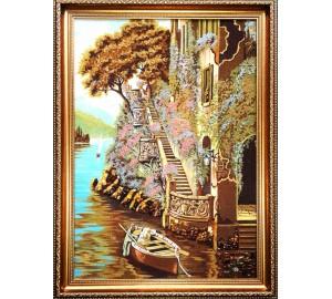 Картина из натурального янтаря (rb-28)